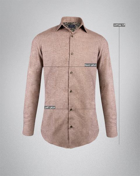 پیراهن مردانه چهارخانه جین
